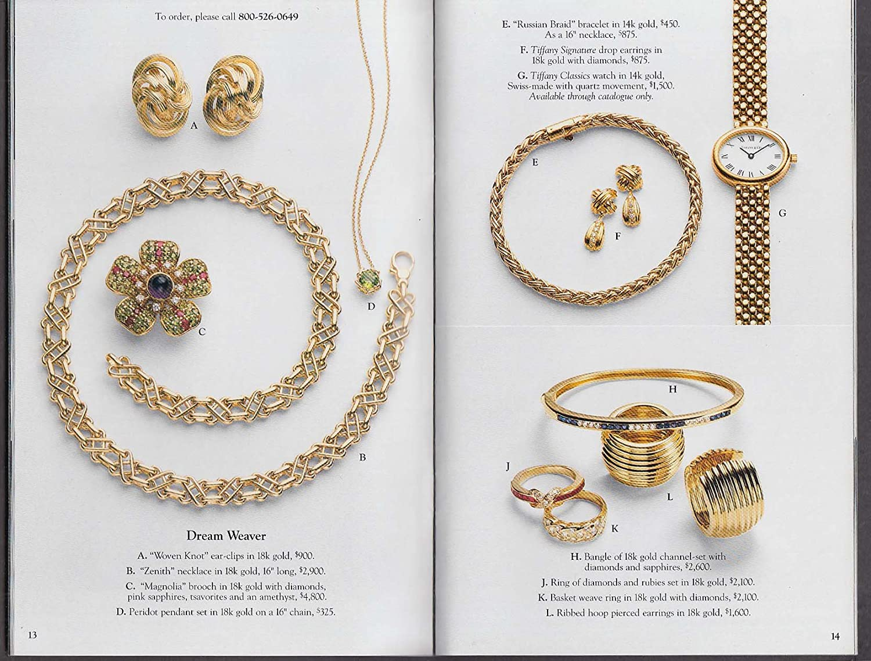 Tiffany & Co Summer Selections 1995 catalog cuff bracelet