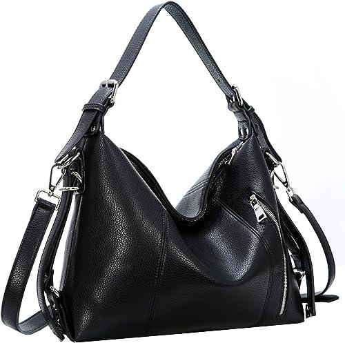 Vintage Women/'s Shoulder Handbags PU Leather Casual Top-handle Bag Tote Purse