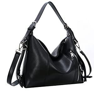 Heshe Vintage Leather Handbags for Women and Ladies