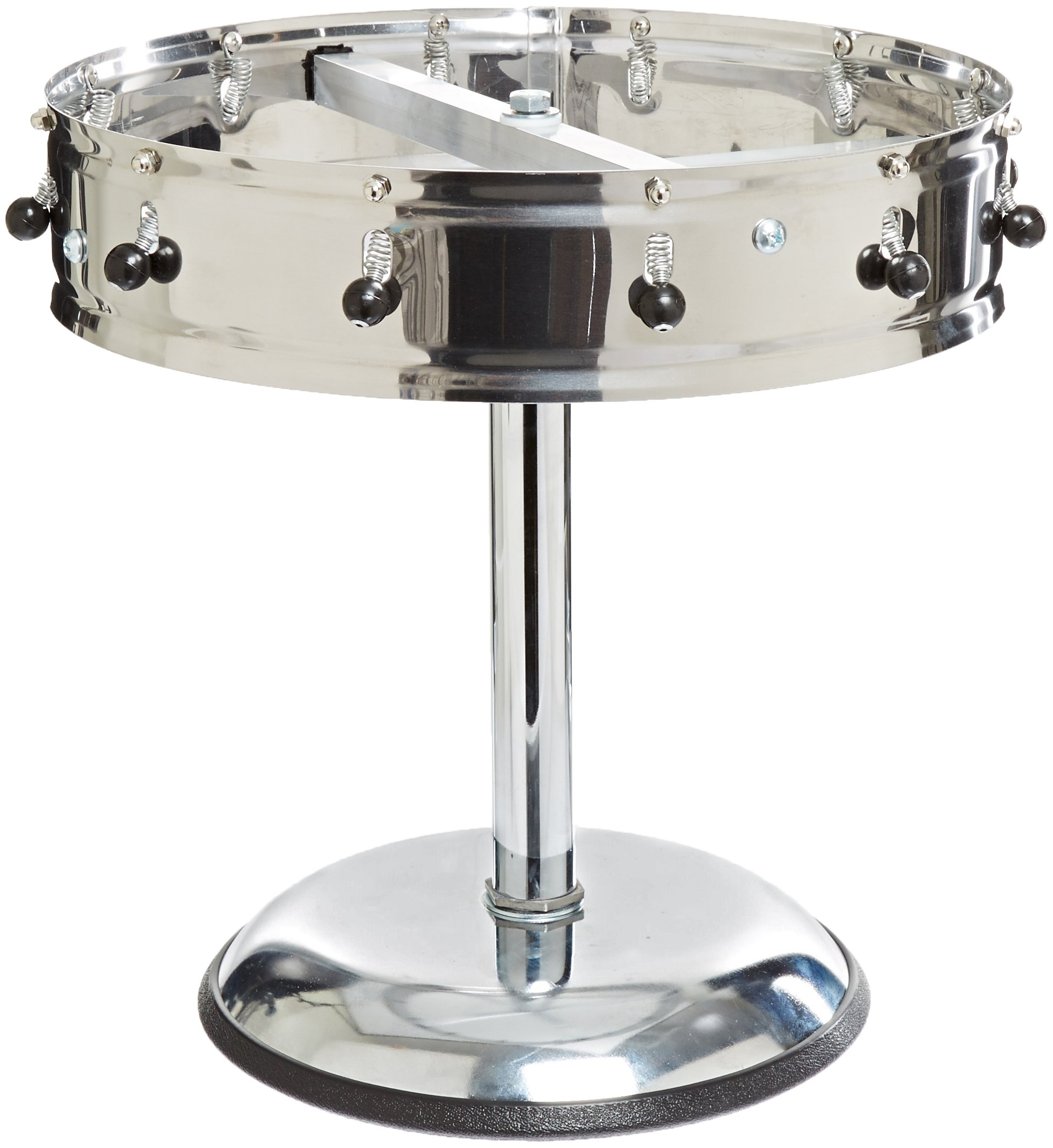 Carlisle 3812MP Stainless Steel Portable Order Wheel with 12 Clips, 14'' Diameter x 5.75'' Height by Carlisle (Image #2)