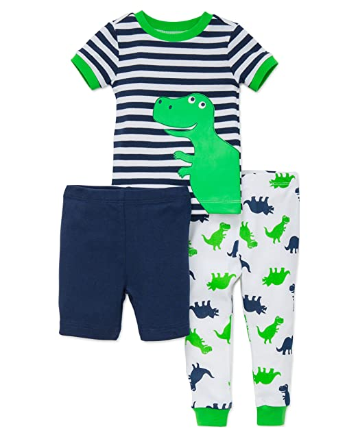 bfbbcdac8ba9 Amazon.com  Little Me Baby Boys  3 Piece Pajamas  Clothing
