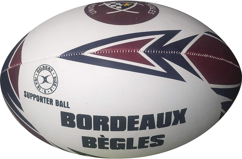 Burdeos Bègles de balón de Rugby Oficial – Gilbert – Talla 5 ...
