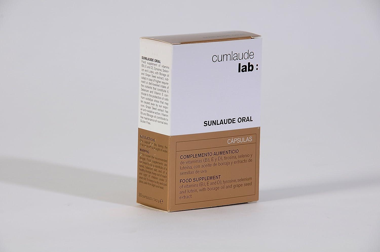CUMLAUDE - CUMLAUDE SUNLAUDE Oral 30 cápsulas: Amazon.es: Alimentación y bebidas
