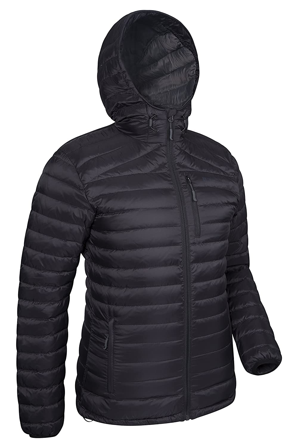 fe59b5e7cf2 Mountain Warehouse Henry Mens Down Padded Winter Jacket - Hooded Black  X-Large: Amazon.ca: Sports & Outdoors