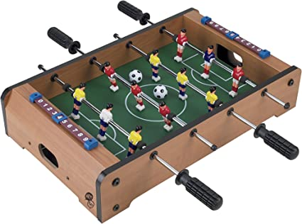 Amazon Com Tabletop Foosball Table Portable Mini Table Football