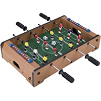 Trademark Gameroom Tabletop Foosball Table, Portable Mini Table Football, Soccer Game Set with Two Balls and Score…