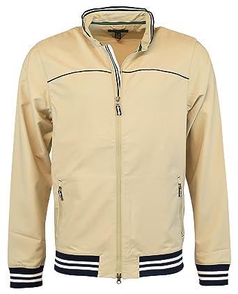48b75e3e3 Tommy Hilfiger Mens Linton Double Weave Wind Jackets X-Large Light Khaki at  Amazon Men's Clothing store: