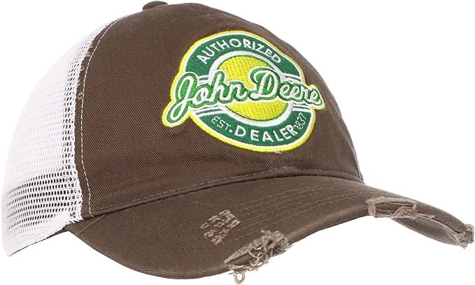 John Deere de Hombre Retro Parche Gorra de béisbol Marrón marrón ...