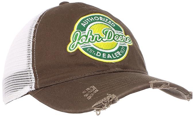 John Deere de Hombre Retro Parche Gorra de béisbol Marrón marrón: Amazon.es: Ropa y accesorios