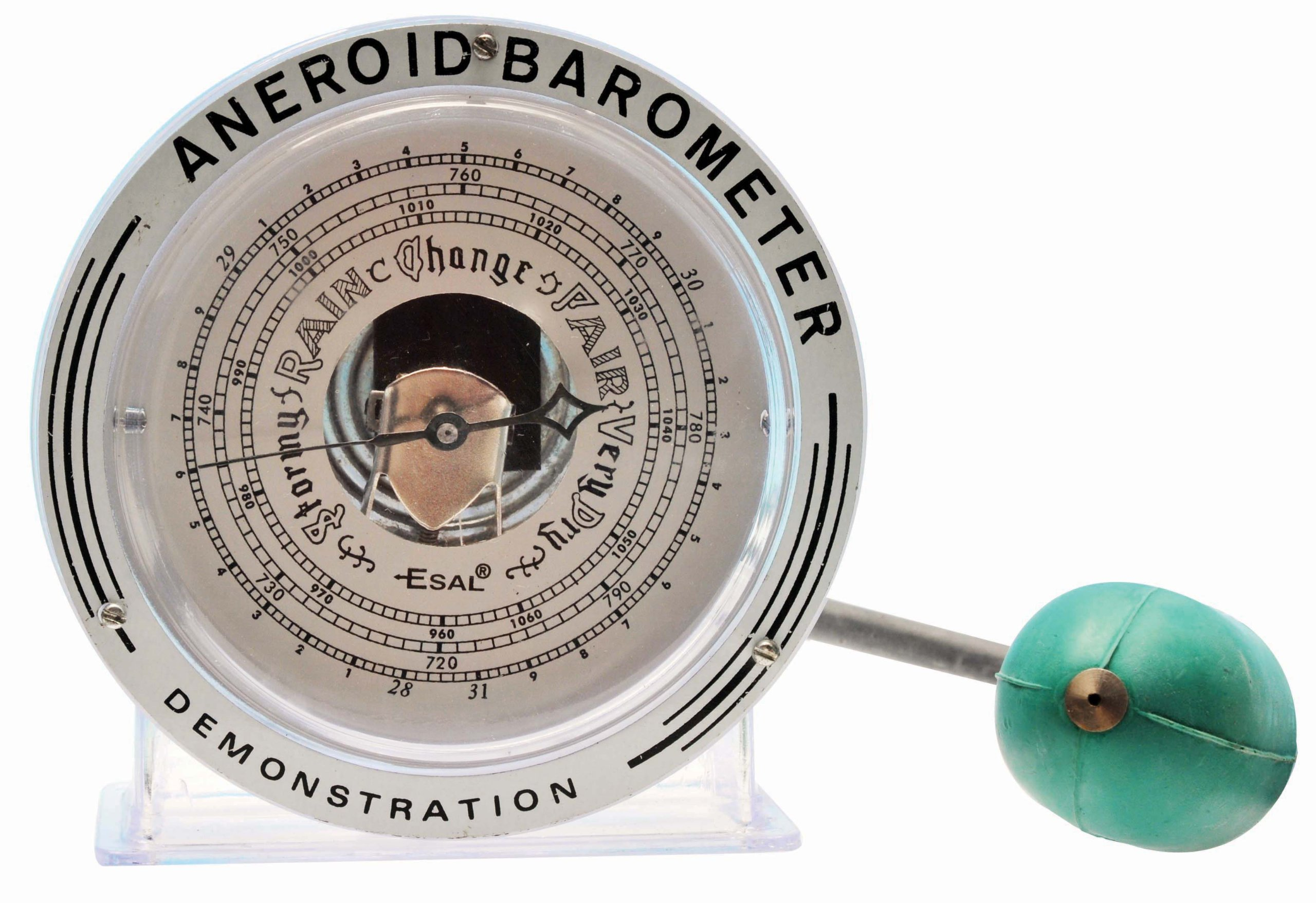 Eisco Labs Aneroid Teaching Barometer