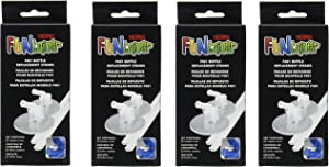 Thermos F401 Replacement Straws for 12 Ounce Funtainer Bottle, Clear (Clear (4 Pack))