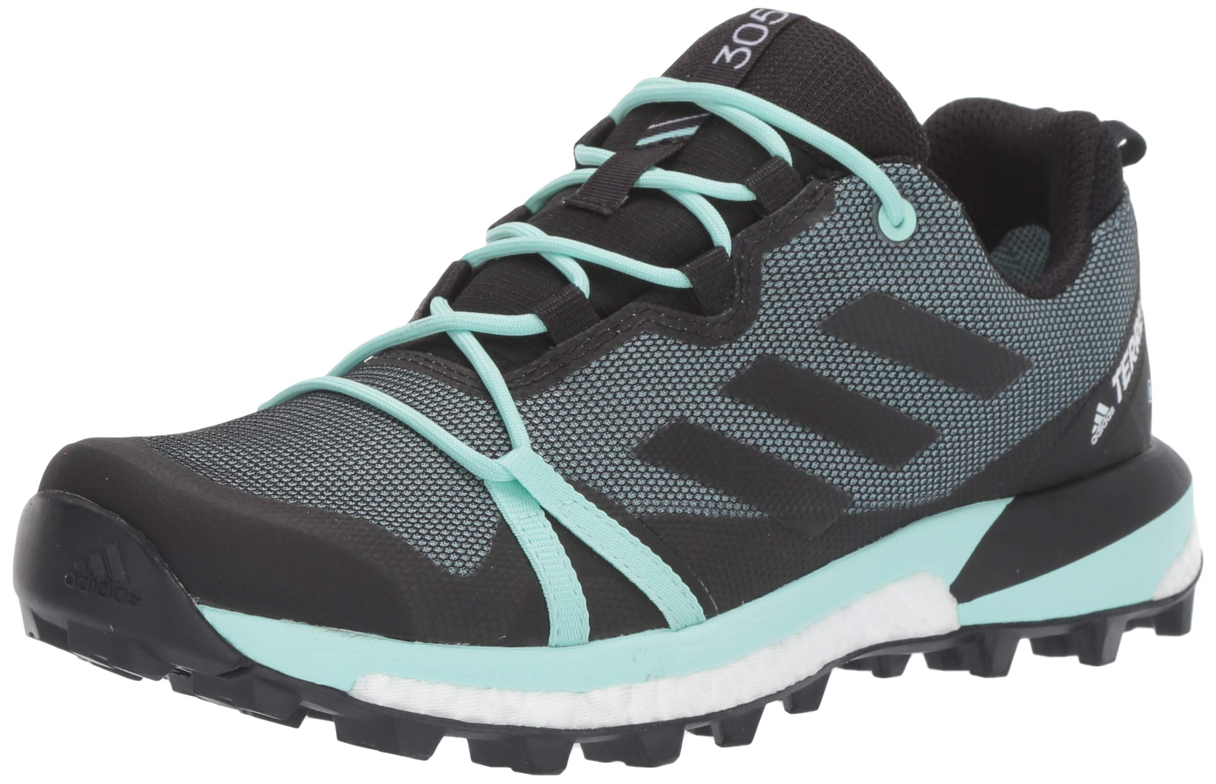 adidas outdoor Women's Terrex Skychaser LT GTX Athletic Shoe, ASH Grey/Black/Clear Mint, 5.5 M US by adidas outdoor
