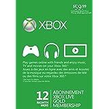 Microsoft Xbox 360 Live 12 Months Gold Card