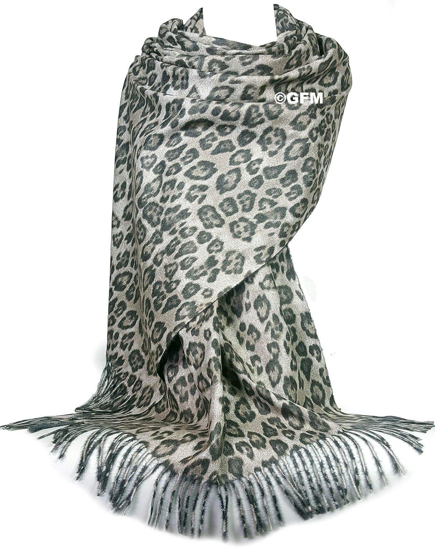 GFM/® modello animale leopardo Sciarpa o scialle