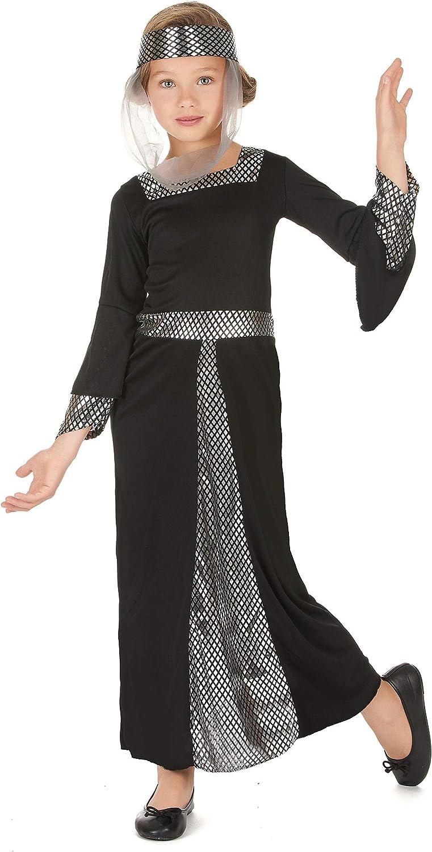 Vegaoo - Disfraz de Princesa Medieval niña - L 10-12 años (130-140 ...