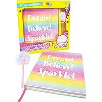 GirlZone Regalos para Niñas | Cuaderno Arcoíris