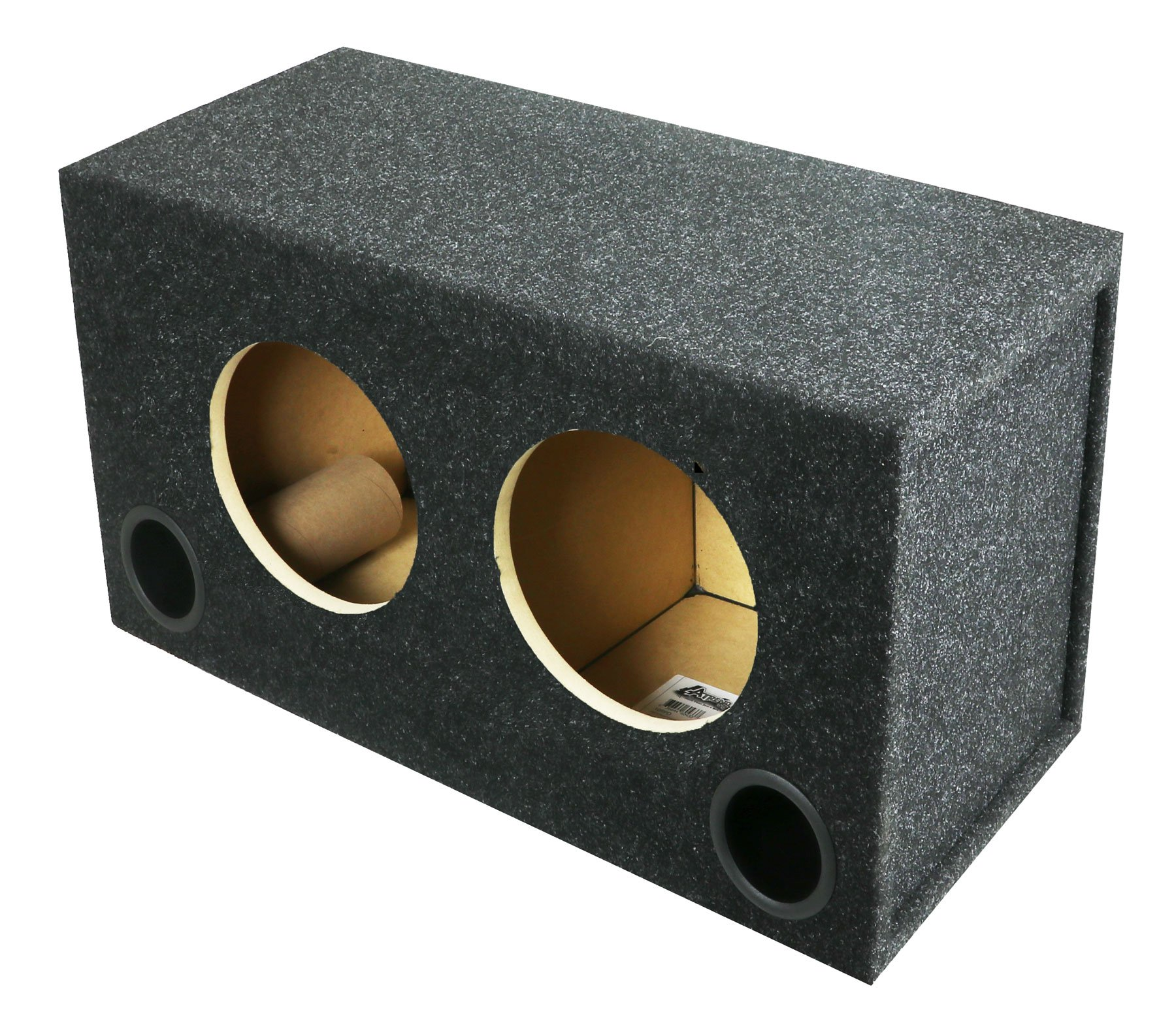 Dual Rockford Fosgate Model P2D4 & P3D4 8 Inch Subwoofer Enclosure by Atrend