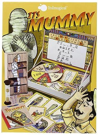 Itsimagical Its The Mummy Juego De Mesa Para Adivinar La Palabra