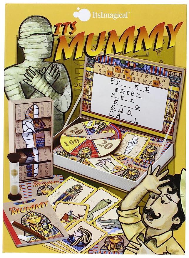 itsImagical - Its The Mummy!, juego de mesa para adivinar la ...