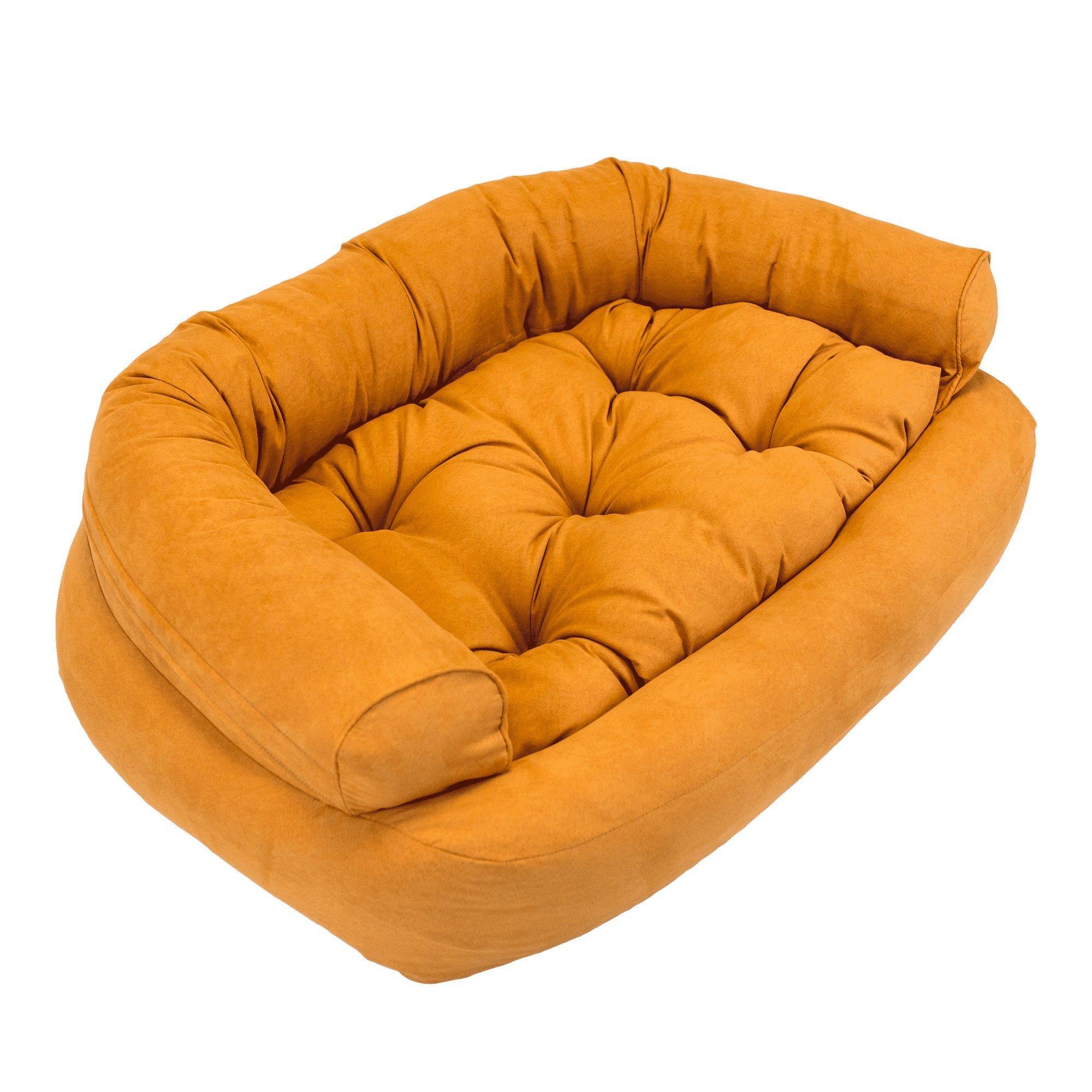 Snoozer Overstuffed Luxury Pet Sofa, X-Large, Shona Brown Sugar