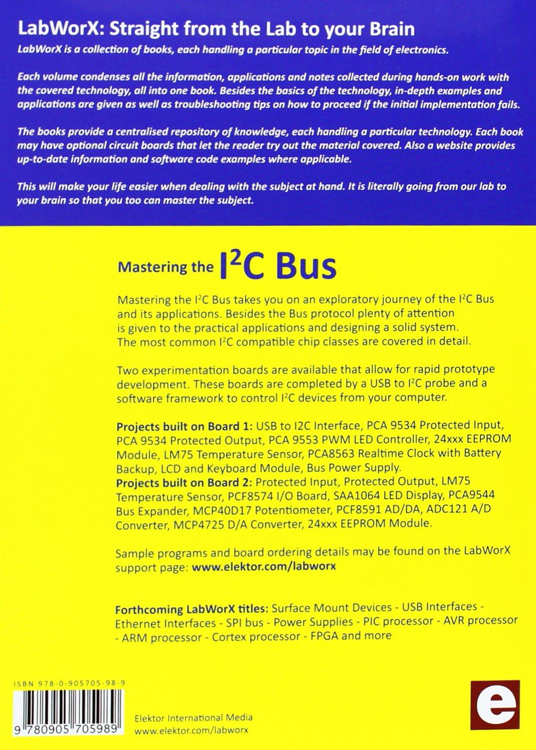 Mastering the I2C Bus: LabWorX 1: Amazon co uk: Vincent