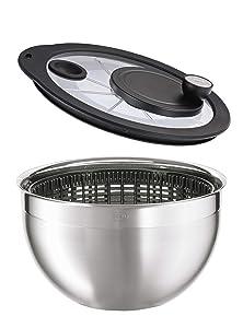 Rosle Stainless Steel Salad-Spinner, Large