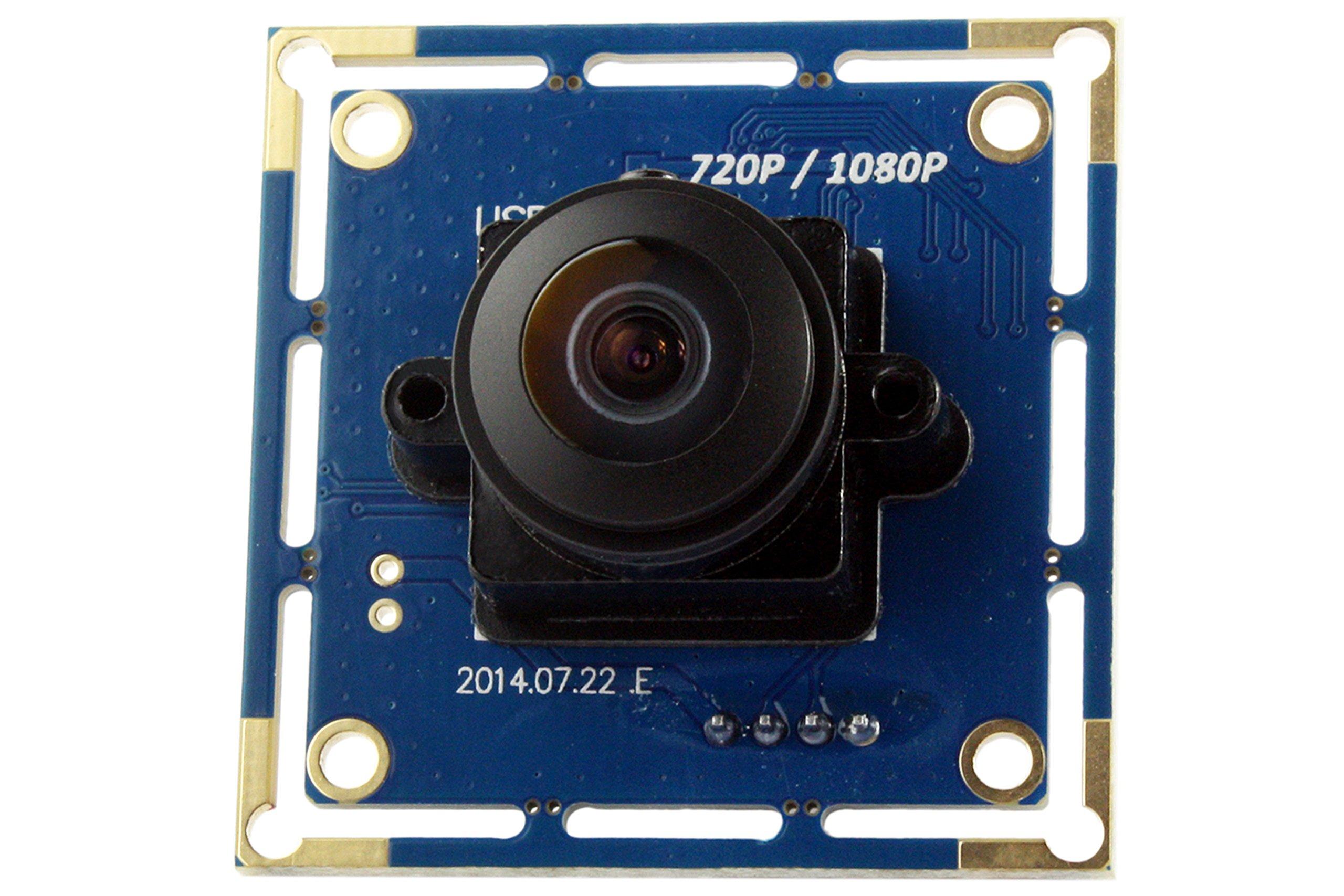 180degree Fisheye Lens 1080p Wide Angle Pc Web USB Camera.usb Camera Module for Android Windows .Cam Module Ir.