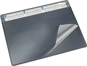 Läufer Schreibunterlage Durella DA 52 x 65 cm schwarz