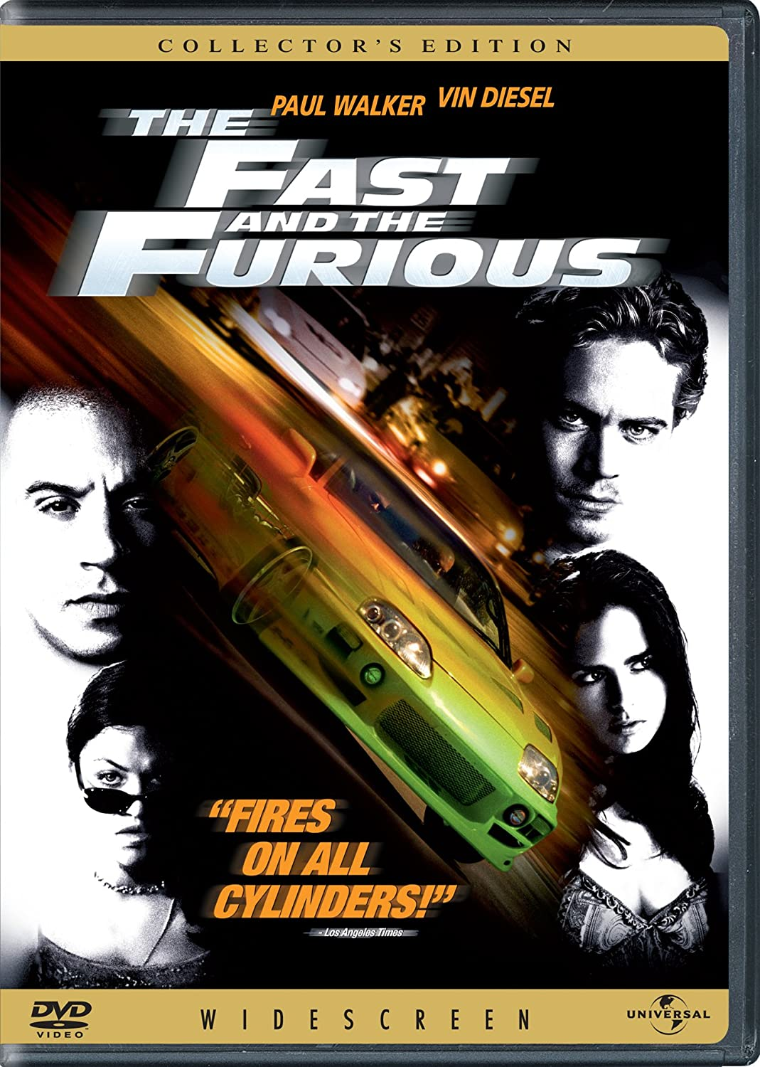 Amazon Com The Fast And The Furious Vin Diesel Paul Walker Michelle Rodriguez Jordana Brewster Rick Yune Ja Rule Chad Lindberg Johnny Strong Rob Cohen Neal H Moritz Gary Scott Thompson Erik Bergquist