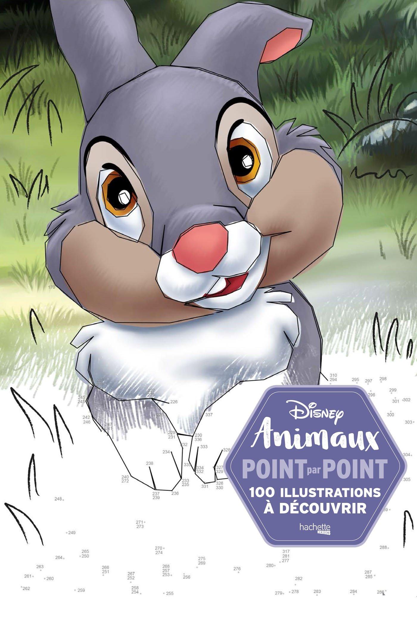 Disney Animaux Point Par Point 100 Illustrations A