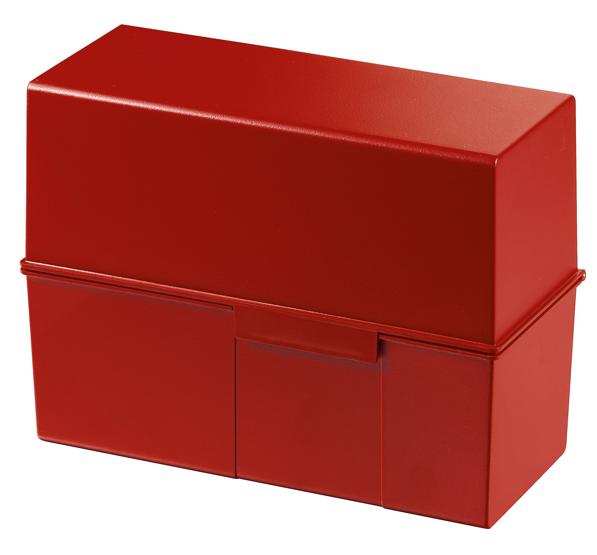 HAN 975-17 Index Card Box For 450 Cards Din A5 Polystyrene 228 X 171 X 102 Mm Red by HAN