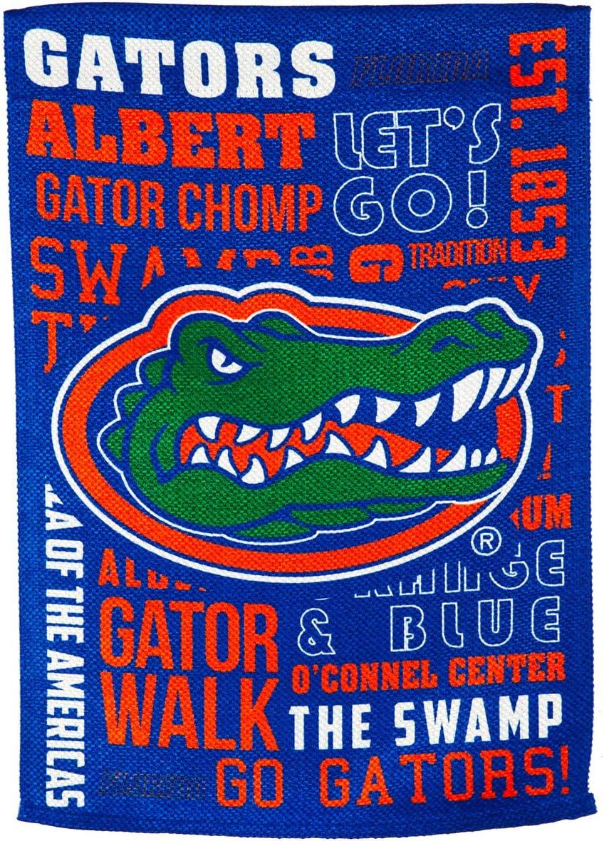Team Sports America U of Florida Fan Rules Garden Flag - 13 x 18 Inches