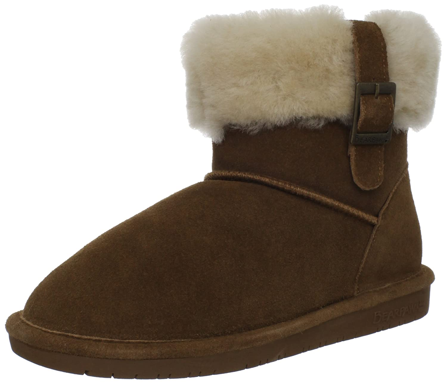 BEARPAW Women's Abby B0073E60N2 5 B(M) US|Hickory