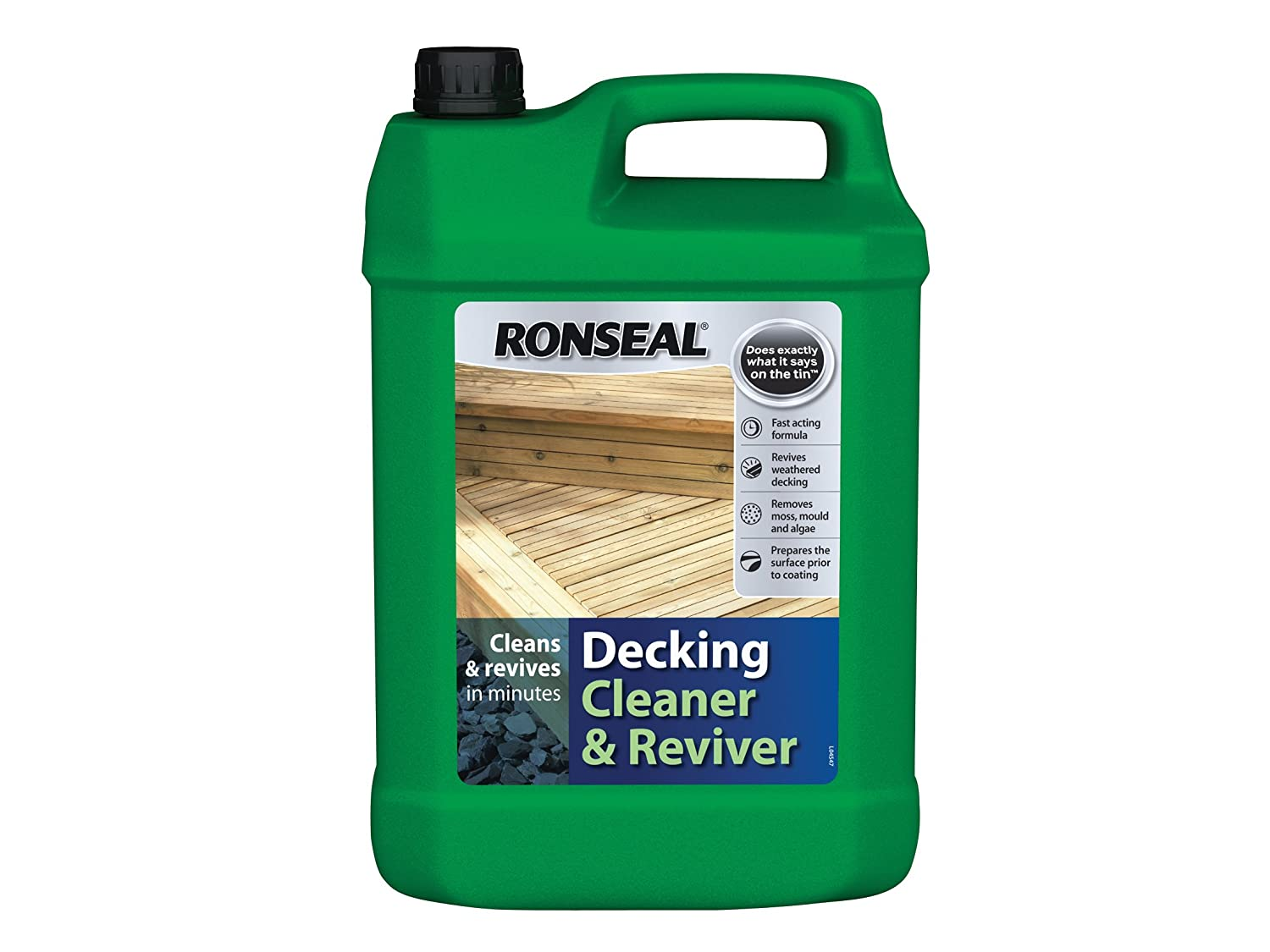Ronseal dc decking cleaner 5 litre amazon diy tools baanklon Image collections