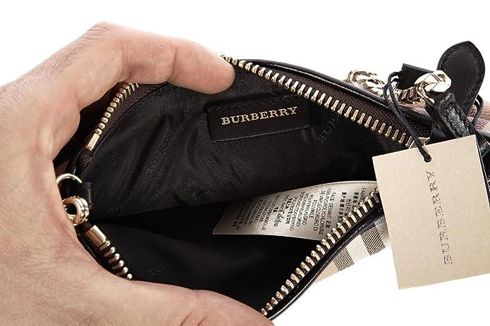 7daf92d9f399 Burberry Haymarket Nova Check Clara Convertible Wristlet  Handbags   Amazon.com