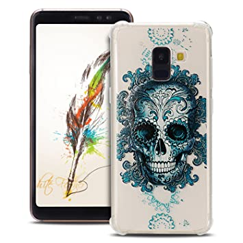 Anfire Funda para Samsung Galaxy A8 2018 Carcasa Suave y ...