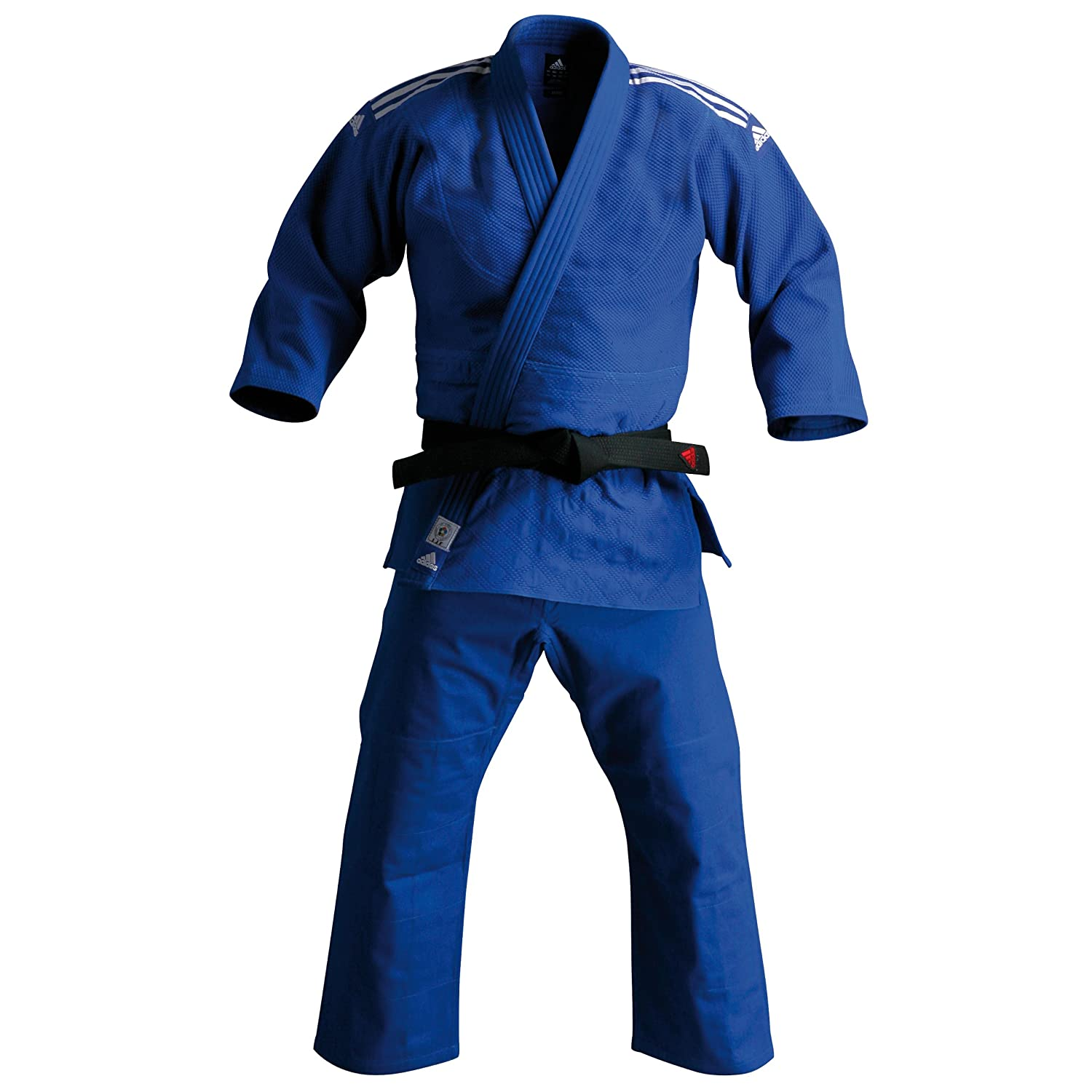 adidas Champion IJF - Traje de Judo, Color Azul: Amazon.es ...