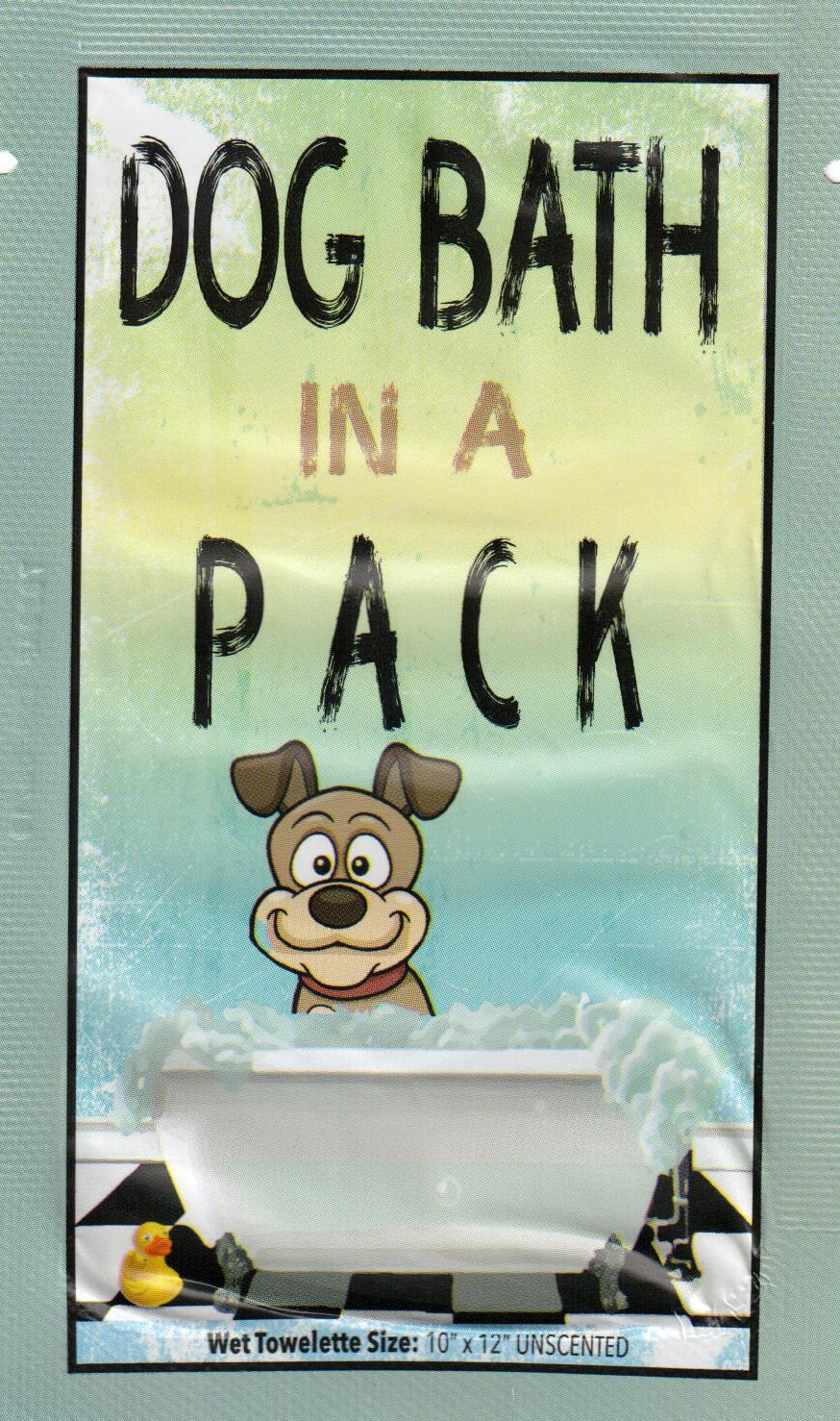 DOG BATH IN A PACK - Largest Bath and Grooming Wipes in Individual PacksNEW Perfect for Travel or When on the GO 40ct.