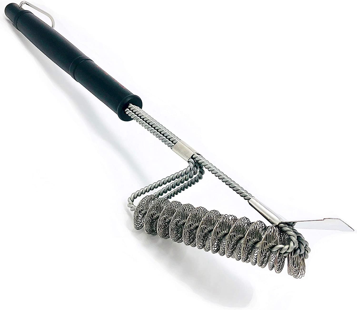 BBQ Cleaning Brush Grill Wire Kitchen Cooking Stainless Steel Barbecue Scraper
