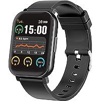 Smartwatch Reloj Inteligente Pantalla Táctil Completa de 1.65 Pulgadas Pulsera Inteligente Impermeable con Monitor de…