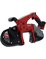 Milwaukee 2629-22 M18 18V Cordless Band Saw w/ Blade Ejection System and Adjustable Guide (Batteries Not Included, Power Tool Only)