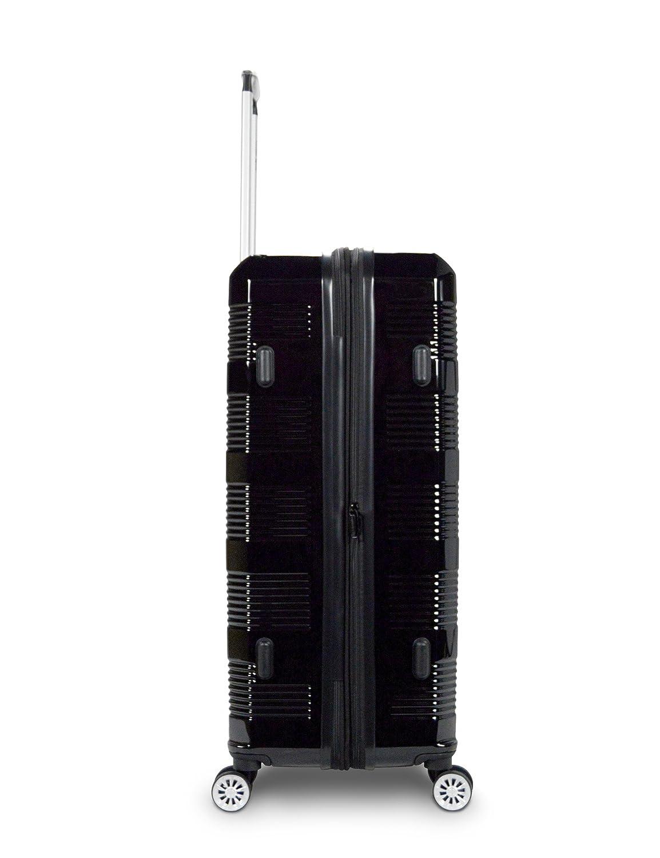 Traveler Space New Horizon 3PCs PC Hardshell Expandable 360 Spinner Luggage Set purple