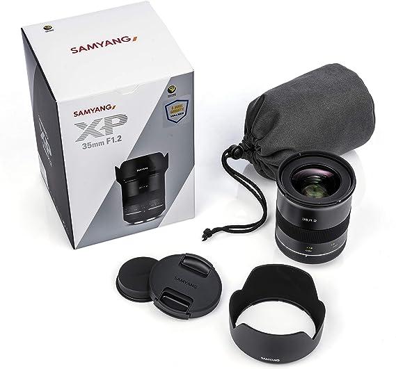 Samyang Xp 35 Mm F1 2 Canon Ef Manual Wide Angle Lens Camera Photo