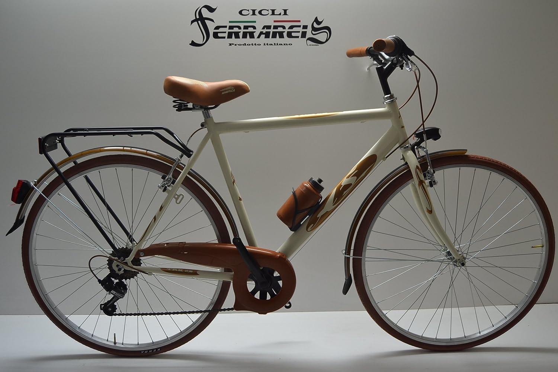 Bicicleta City Bike Trek. Caminar Strad 28 Hombre Acero y marfil y ...