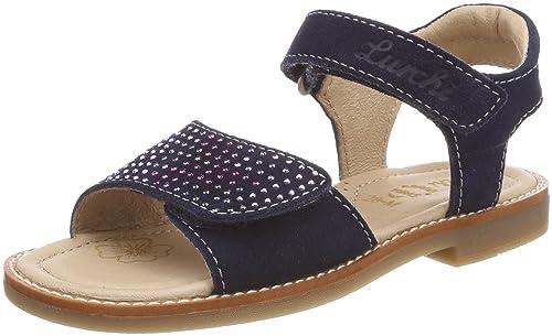 7b08ab623 Lurchi Zuzu - Sandalias con Punta Abierta Niñas  Amazon.es  Zapatos y  complementos
