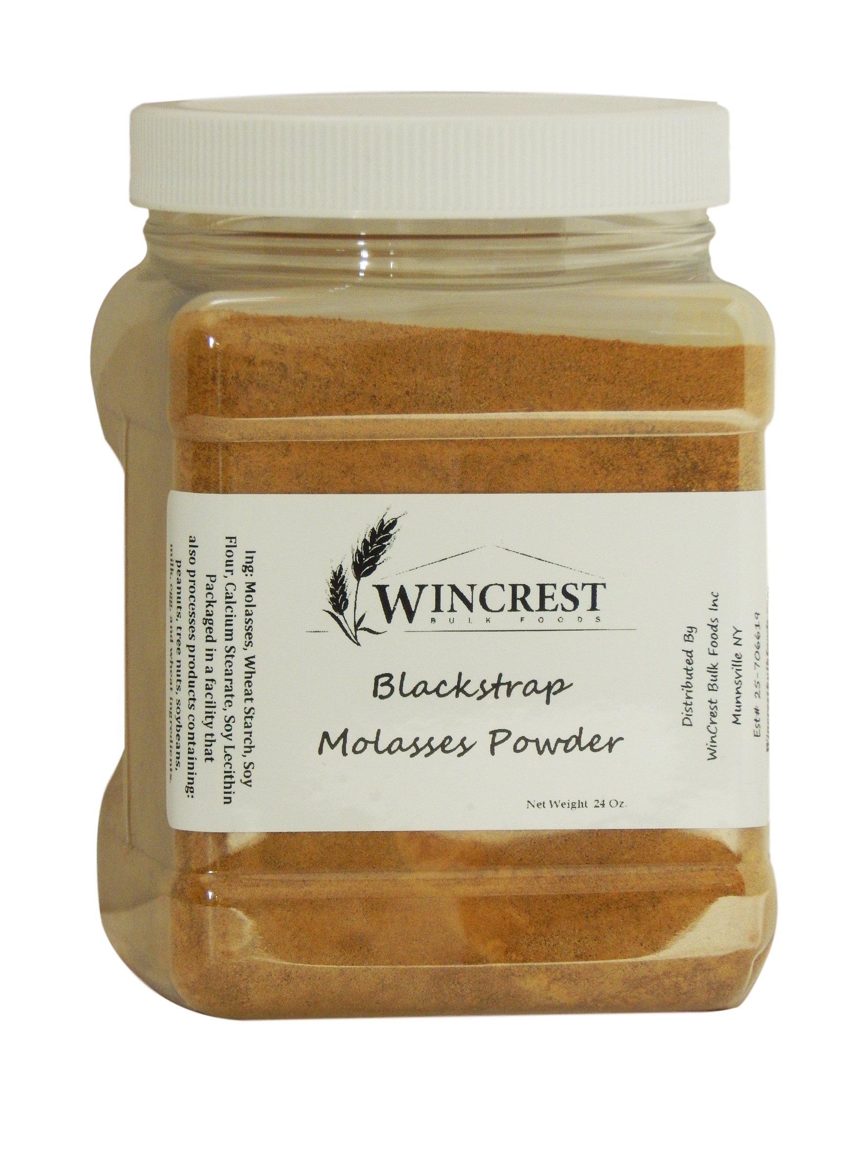 Blackstrap Molasses Powder - 1.5 Lb Container