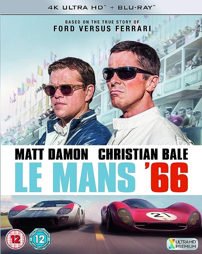 Le Mans 66 [Edizione: Regno Unito] [Italia] [Blu-ray]