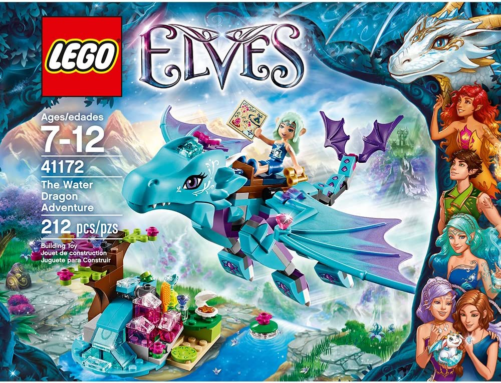 amazon lego elves dragon sets
