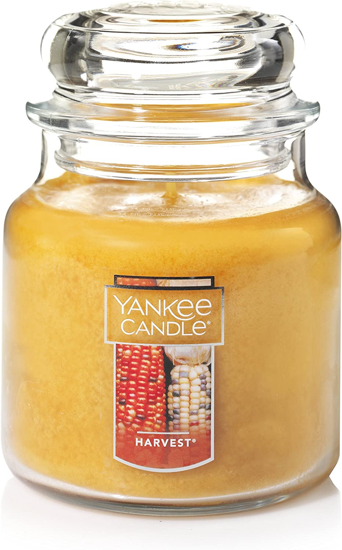 Yankee Candle Medium Jar Candle, Harvest
