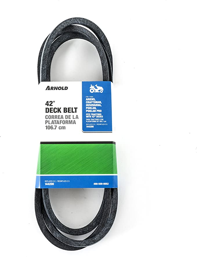 Cobeky 42 Inch Mower Deck Drive V-Belt 1//2 Inch X 88 Inch Belt Replacement 144200 for Craftsman LT1000 Murray Poulan